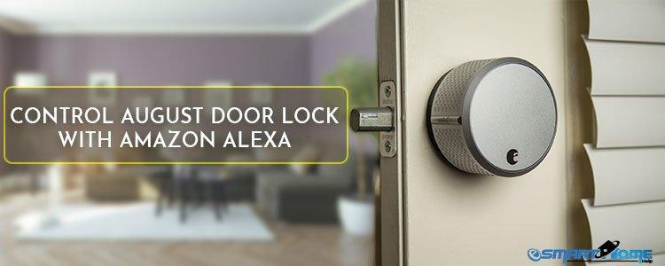 Control August Door Lock with Alexa